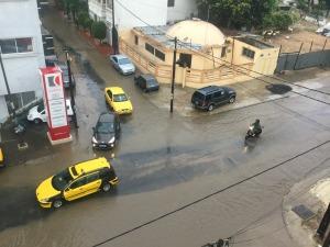 La prima e unica pioggia in Senegal