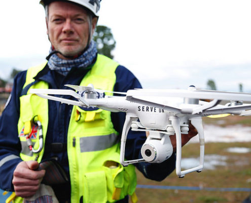 drones search and rescue